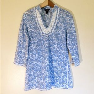 Brooks Brothers | Floral Print Tunic